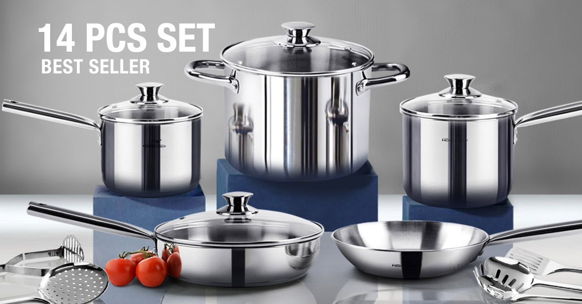 Homi Chef Ecological Stainless Steel Cookware Best